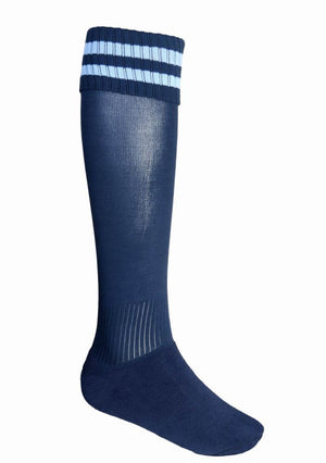 Bocini-Bocini Stripes Socks-Navy/Sky / Child-Uniform Wholesalers - 8