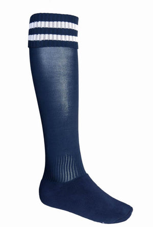 Bocini-Bocini Stripes Socks-Navy/White / Child-Uniform Wholesalers - 14