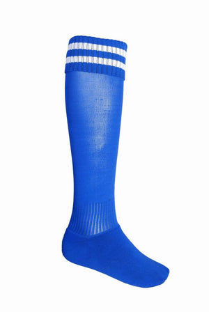 Bocini-Bocini Stripes Socks-Royal/White / Child-Uniform Wholesalers - 9