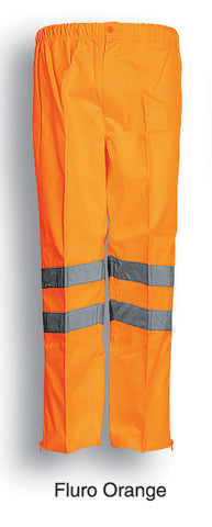 Bocini-Bocini Hi-Vis Pants-Fluro Orange / S-Uniform Wholesalers - 1