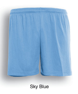 Bocini-Bocini Adults Plain Soccer Shorts-Sky Blue / S-Uniform Wholesalers - 8