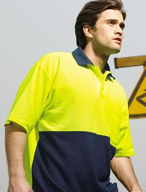 Bocini Hi-Vis Poly/Cotton Polo (SP0359)