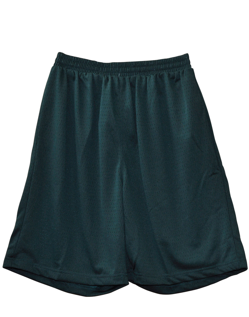 Winning Spirit-Winning Spirit Adults' CoolDry® Basketball Shorts-Bottle / S-Uniform Wholesalers - 3
