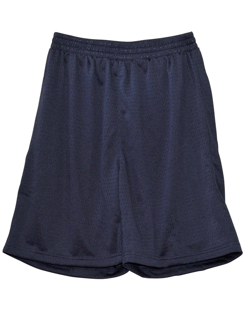 Winning Spirit-Winning Spirit Adults' CoolDry® Basketball Shorts-Navy / S-Uniform Wholesalers - 5