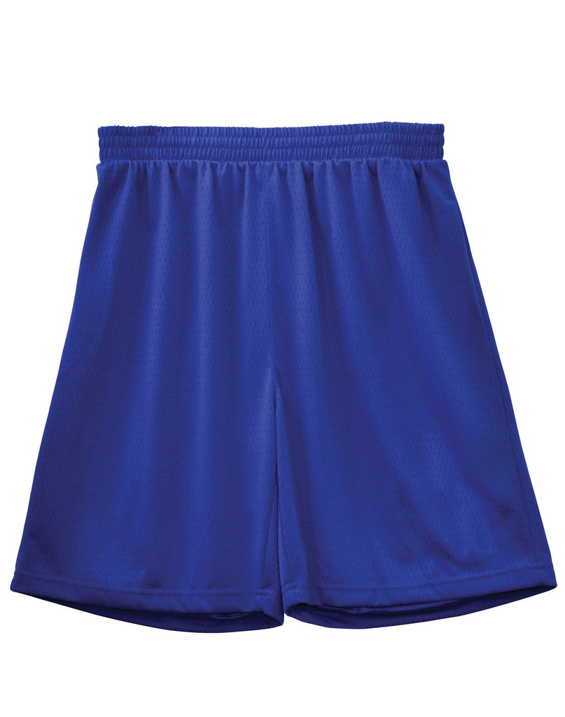 Winning Spirit-Winning Spirit Adults' CoolDry® Basketball Shorts-Royal / S-Uniform Wholesalers - 7