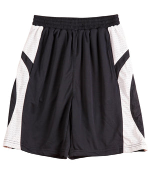 Winning Spirit-Winning Spirit Adults' CoolDry® Basketball Shorts-Navy/white / S-Uniform Wholesalers - 3