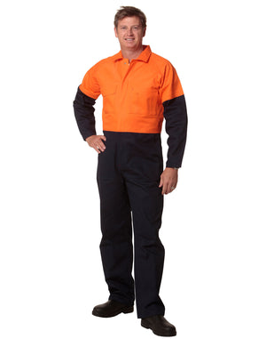 Winning Spirit-Winning Spirit  Mens Two Tone coverall Regular--Uniform Wholesalers - 1