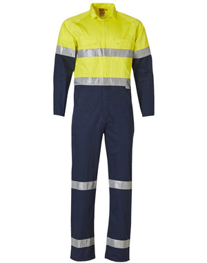 Winning Spirit Mens Two Tone Coverall (SW207)
