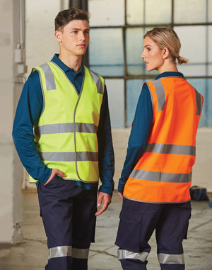 Winning Sprit Safety Vest With Shoulder Tapes (SW43)