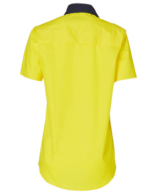 Winning Spirit Womens Short Sleeve Safety Shirt-(SW63)