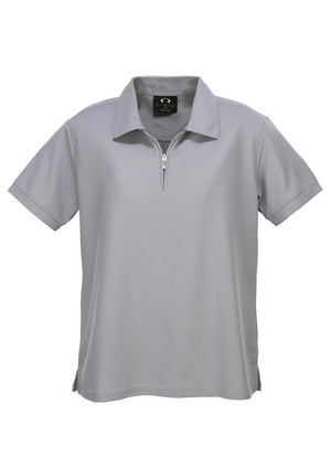 Biz Collection-Biz Collection Ladies Micro Waffle Polo-Silver Grey / 8-Uniform Wholesalers - 6