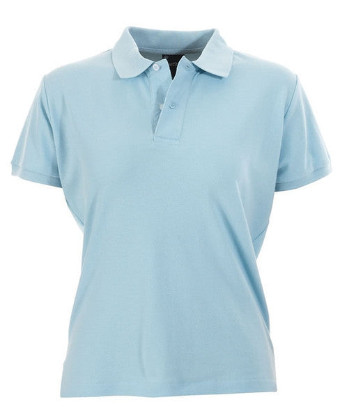 identitee-identitee Ladies Venice Slim Cut Polo Shirt-Sky / 8-Uniform Wholesalers - 8