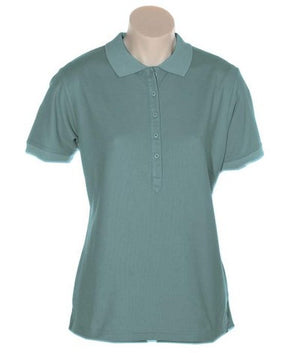 Australian Spirit-Aus Spirt Gelato Ladies Polo-Smoke / 8-Uniform Wholesalers - 9
