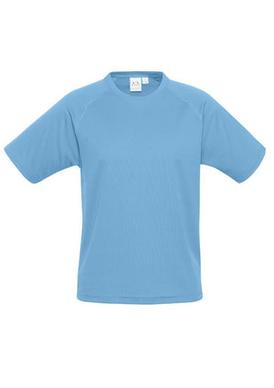 Biz Collection-Biz Collection Mens Sprint Tee-Springblue / S-Uniform Wholesalers - 8