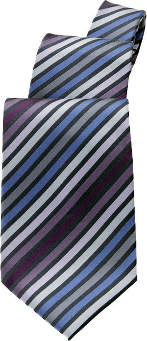 Chef Works-Chef Works Blue/ Purple Stripe Tie-Blue/ Purple-Uniform Wholesalers