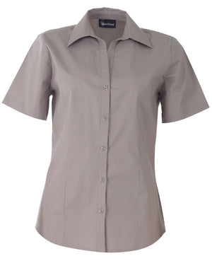 identitee-Identitee Ladies Rodeo Short Sleeve-Taupe / 8-Uniform Wholesalers - 8