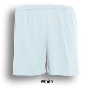Bocini-Bocini Adults Plain Soccer Shorts-White / S-Uniform Wholesalers - 9