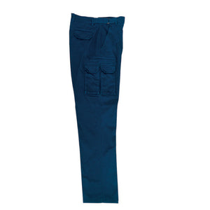 Bocini-Bocini Cotton Work Pants with Utility Pockets-Navy / 87S-Uniform Wholesalers - 3