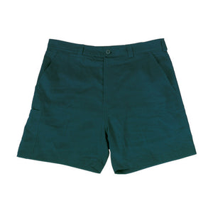 Bocini-Bocini Cotton Drill Work Shorts-Bottle Green / 77R-Uniform Wholesalers - 2