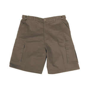 Bocini-Bocini Cotton Drill Cargo Shorts-Sandstone / 77R-Uniform Wholesalers - 4
