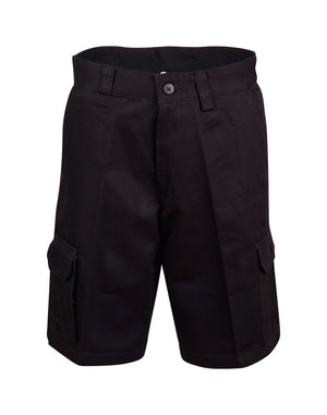 Winning Spirit Men's Cotton Pre-shrunk Drill Shorts (WP06)