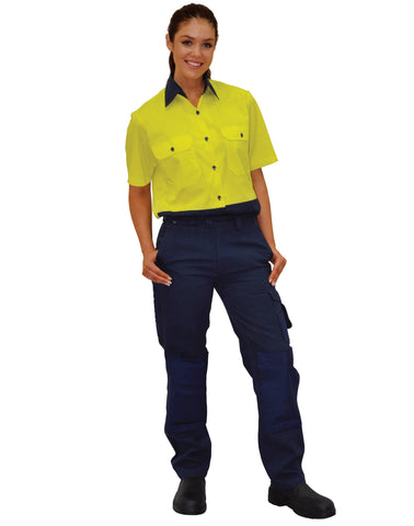 Winning Spirit-Winning Spirit Ladies Durable Work Pants--Uniform Wholesalers - 1