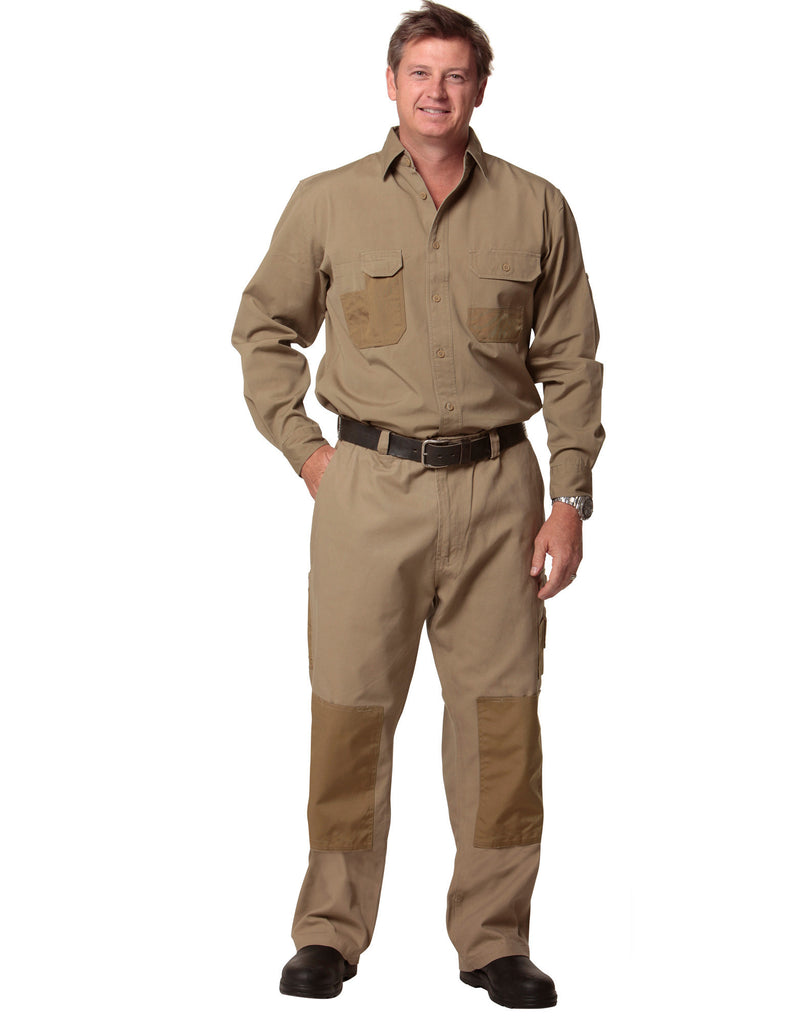 Winning Spirit-AIW Men's Dura Wear Work Pants With Knwee Pad Pocket--Uniform Wholesalers - 1