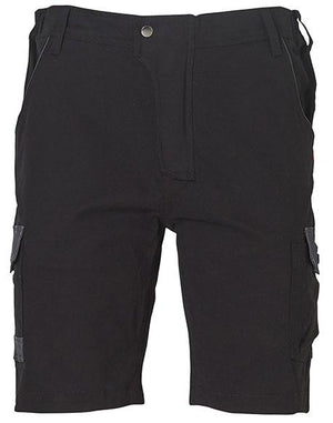 Winning Spirit  Mens Stretch Cargo Work Shorts With Design Panel Treatments (WP23)