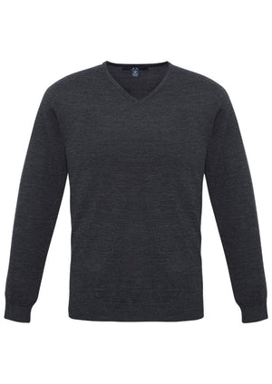Biz Collection-Biz Collection Mens Milano Pullover-CHARCOAL / XS-Uniform Wholesalers - 3
