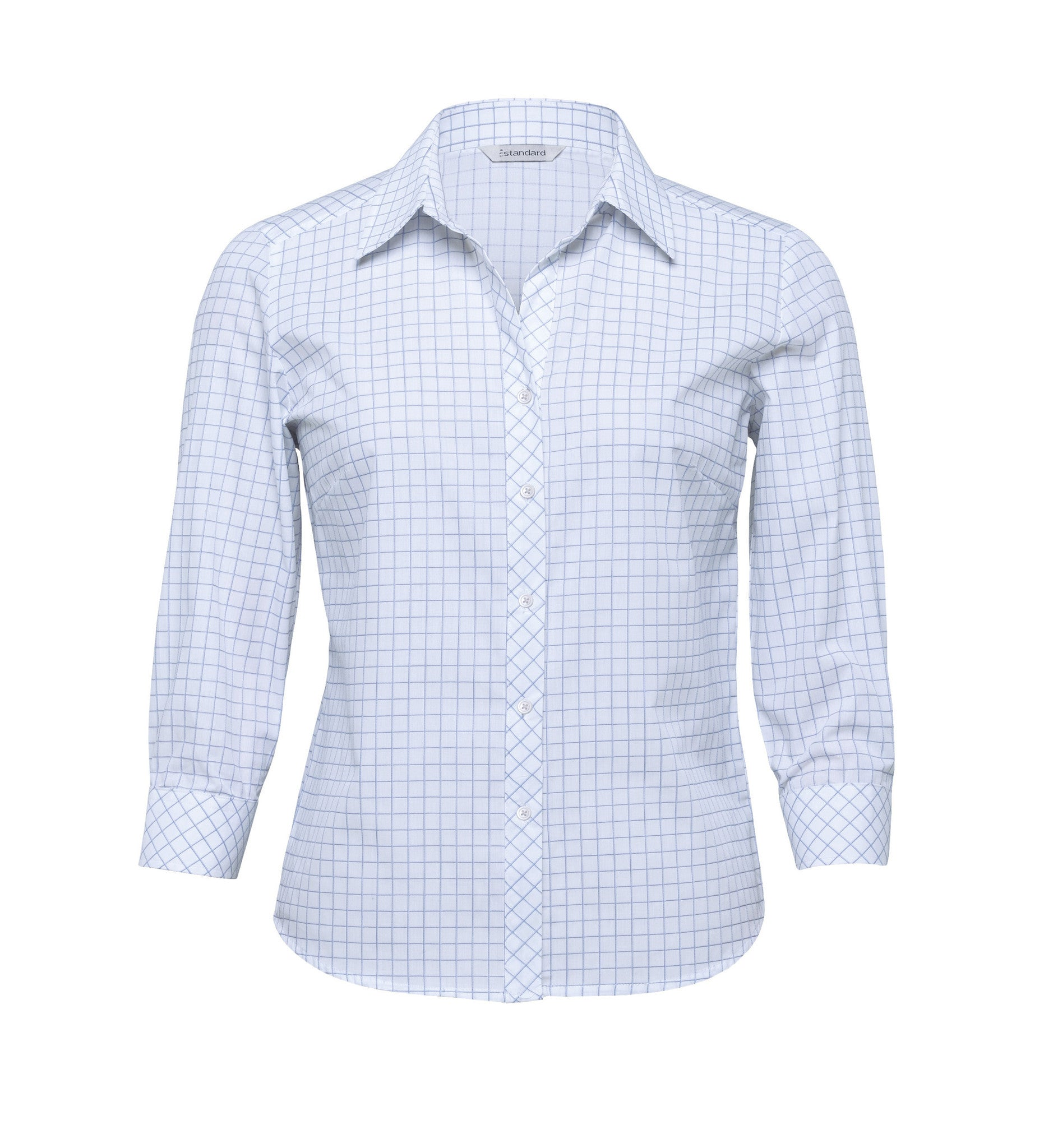 0a9190e0164fc Gear For Life-Gear For Life The Axiom Check Shirt – Womens-White . Gear For  Life-Gear For Life The Axiom Check Shirt – Womens-White