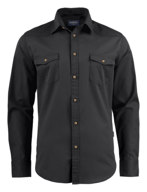 James Harvest Treemore Unisex Twill Shirt-(TREEMORE)