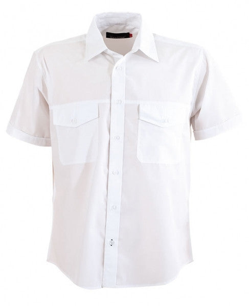 identitee-Identitee Mens Harley Short Sleeve-White / S-Uniform Wholesalers - 8