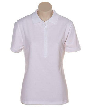 Australian Spirit-Aus Spirt Gelato Ladies Polo-White / 8-Uniform Wholesalers - 10