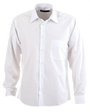 identitee-Identitee Mens Rodeo Long Sleeve-White / S-Uniform Wholesalers - 9