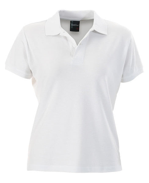 identitee-identitee Ladies Venice Slim Cut Polo Shirt-White / 8-Uniform Wholesalers - 9