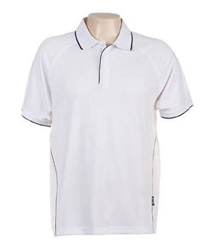 Australian Spirit-Aus Spirt Senator Mens Polo-White / Navy / XL-Uniform Wholesalers - 12