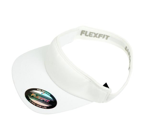 577496c56ac8d FLEXFIT-FLEXFIT Visor-White / OSFA-Uniform Wholesalers - 4. FLEXFIT-FLEXFIT  Visor-White / OSFA-Uniform Wholesalers - 4