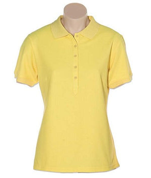 Australian Spirit-Aus Spirt Gelato Ladies Polo-Yellow / 8-Uniform Wholesalers - 11