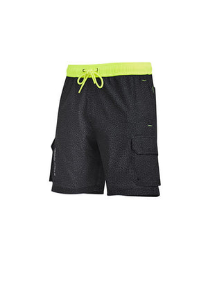 Syzmik Mens Streetworx Stretch Work Board Short (ZS240)