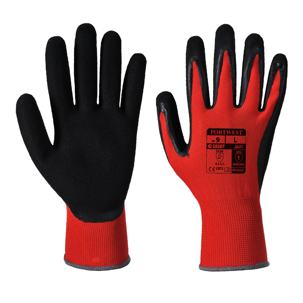 Prime Mover Red Cut 1 Glove (A641)