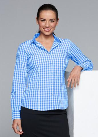 Aussie Pacific Devonport Lady Shirt Long Sleeve (2908L)