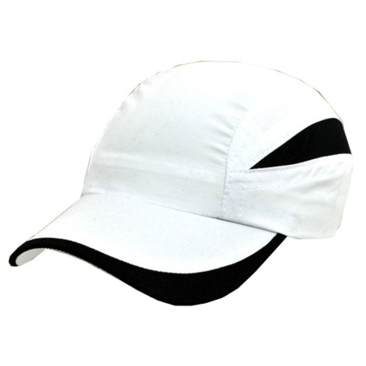 Grace Collection-Grace Collection Summit Cap-White/Black / Free Size-Uniform Wholesalers - 2