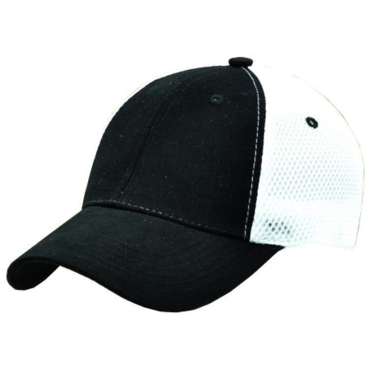 Grace Collection-Grace Collection Hohner Cap-Black/White / Free Size-Uniform Wholesalers - 2
