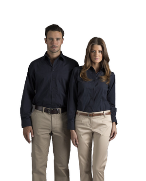 identitee-Identitee Mens Aston Long Sleeve--Uniform Wholesalers - 1