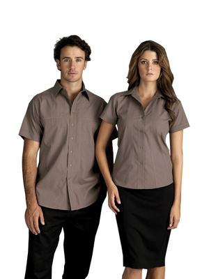 identitee-Identitee Mens Aston Short Sleeve--Uniform Wholesalers - 1