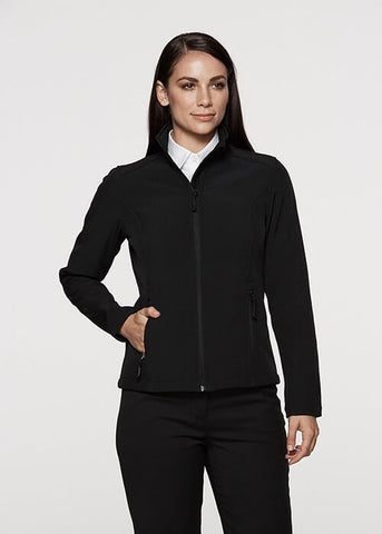 Aussie Pacific Selwyn Ladies SoftShell Jacket-(2512)