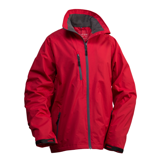 James Harvest-Beacon Boston Unisex Jackets-XS / RED-Uniform Wholesalers - 2