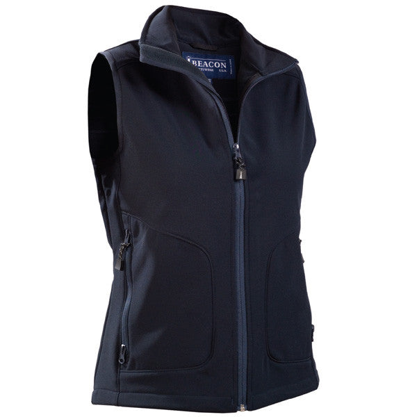 James Harvest-Beacon Morgan Ladies Vests-8 / NAVY-Uniform Wholesalers - 2