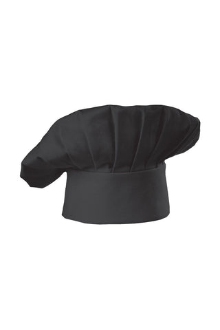 Chef Works-Chef Works BlackTraditional Chef Hat-One size / Black-Uniform Wholesalers