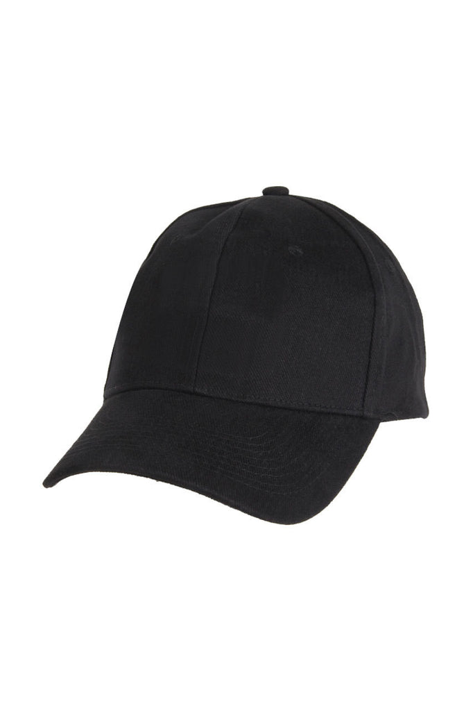 Chef Works-Chef Works Baseball Cap-One size / Black-Uniform Wholesalers - 1